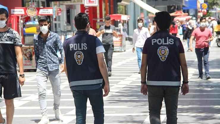 Bir günde bin kişiye maske cezası kesildi