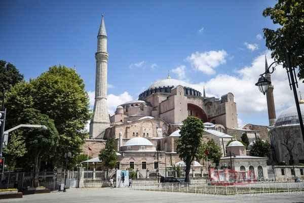 Ayasofya'daki ilk cuma namazı için önlemler alındı