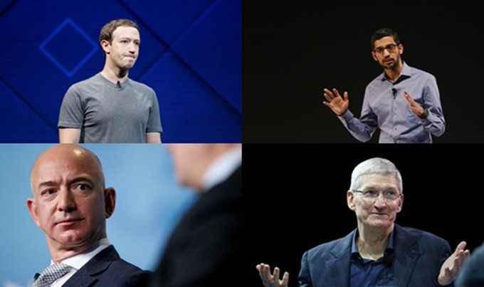 Dört dev şirketin CEO'su ABD Meclisi'nde ifade verecek