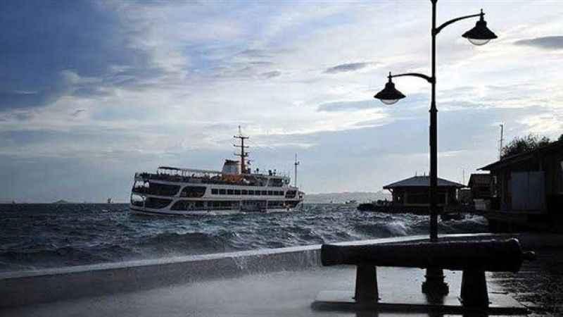 İstanbul hava durumu! Marmara Bölgesine kuvvetli rüzgar uyrarısı