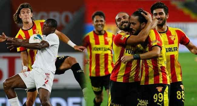 Sivasspor'a Göztepe şoku!