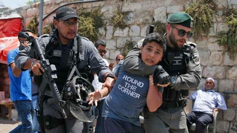 İsrail işgal güçleri çocuklara ve işçilere saldırdı!