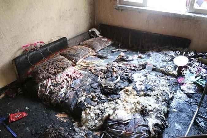 Ev yangınında 5 aylık bebek öldü, 2 yaşındaki ablası yaralandı