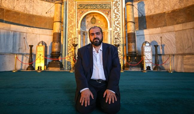 Ayasofya Camii Baş İmamı atama sonrası ilk kez konuştu