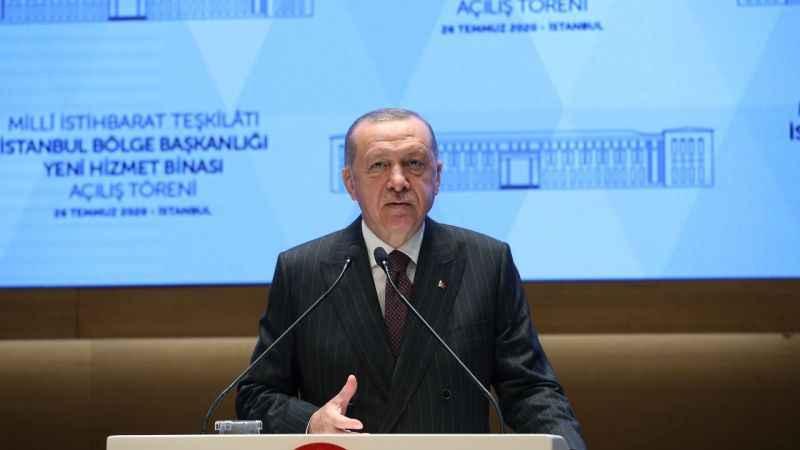 Erdoğan'dan Yunanistan'a Ayasofya Camii tepkisi: Hala kabullenemediler