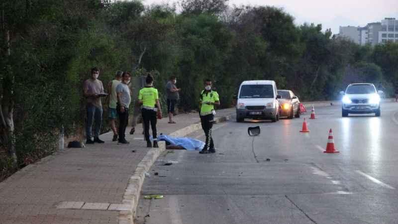 Acı veren kaza! Babayla oğlunu ölüm ayırdı