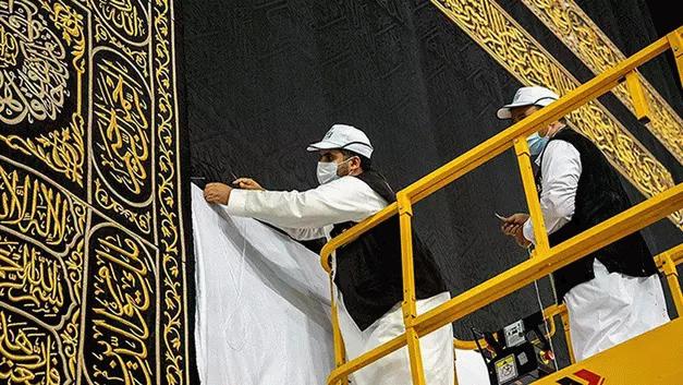 Hac kafileleri Mekke'ye ulaşmaya başladı, Hacdan ilk fotoğraflar!