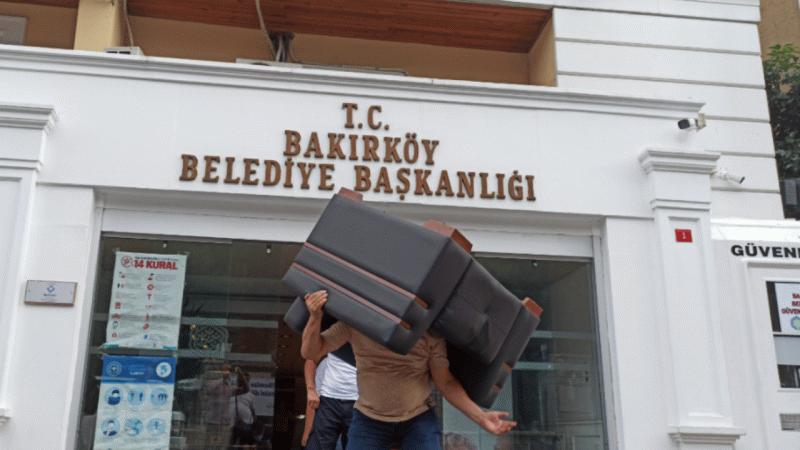 Bakırköy Belediyesi'ne şok! Haciz geldi