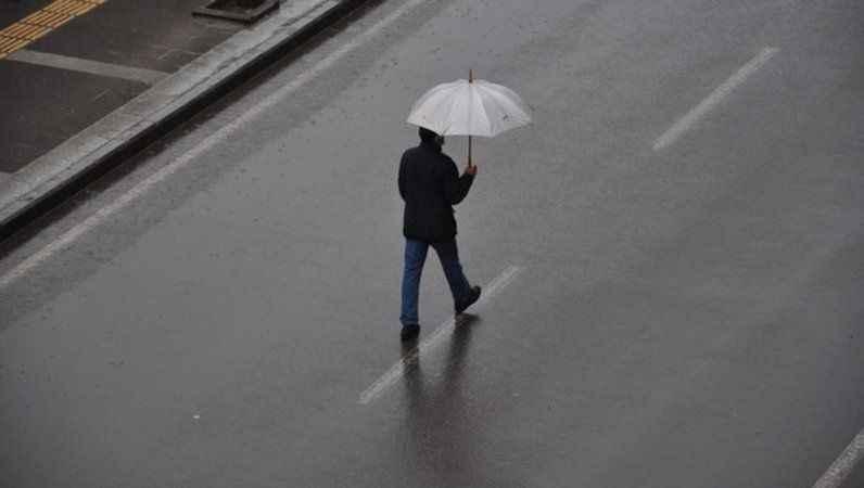 Meteoroloji'den 5 ile sağanak yağış uyarısı