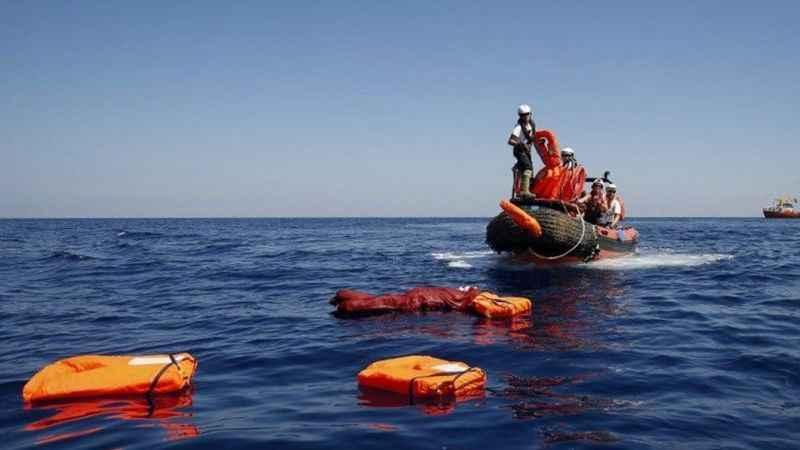 Göçmen teknesi battı: 25 kişi kayboldu