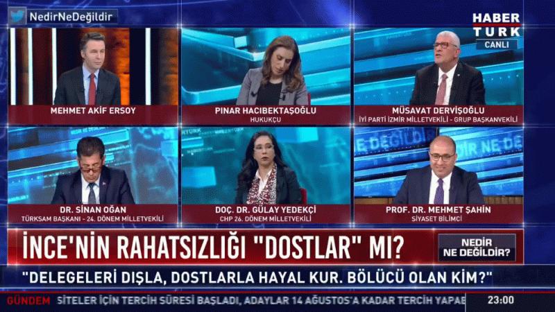 """Dervişoğlu canlı yayında isyan etti! """"Doları konuşmayacak mıyız?"""""""