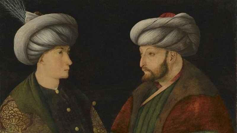 İBB'nin aldığı Fatih Sultan Mehmet portresi İstanbul'a getiriliyor!