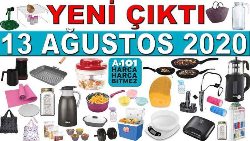 13 Ağustos A101 2020 Aktüel ürünler kataloğunda neler indirimde