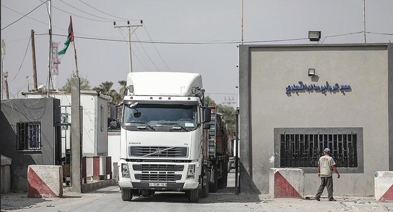 İşglci İsrail Gazze'nin tek ticaret kapısını kapatıyor