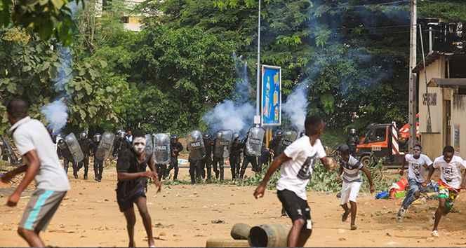 Fildişi Sahili'nde başkanlık seçimine kan sıçradı: En az 4 ölü