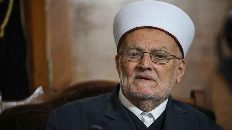 Mescid-i Aksa İmamı Şeyh İkrime Sabri'den İsrail-BAE anlaşmasına tepki