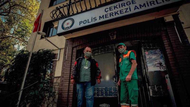 Belediye çalışanı, yerde bulduğu 110 bin lirayı polise teslim etti