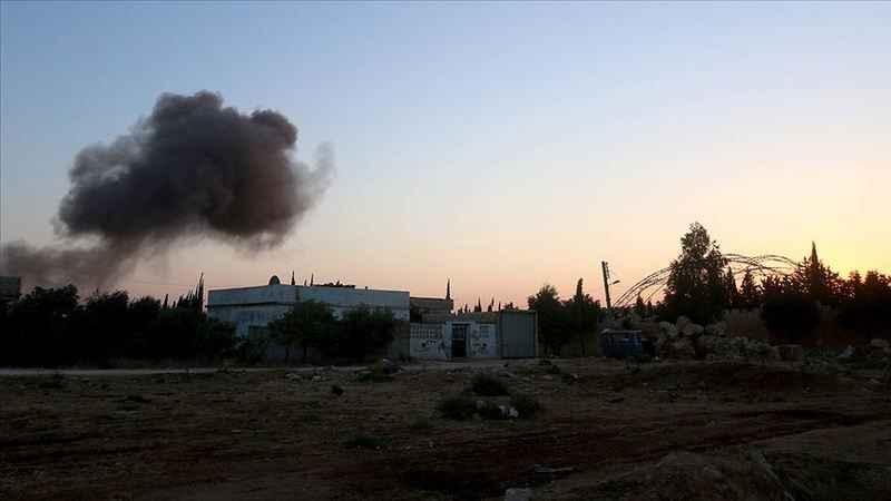 Esad rejiminin İdlib'e saldırısında 2 sivil öldü