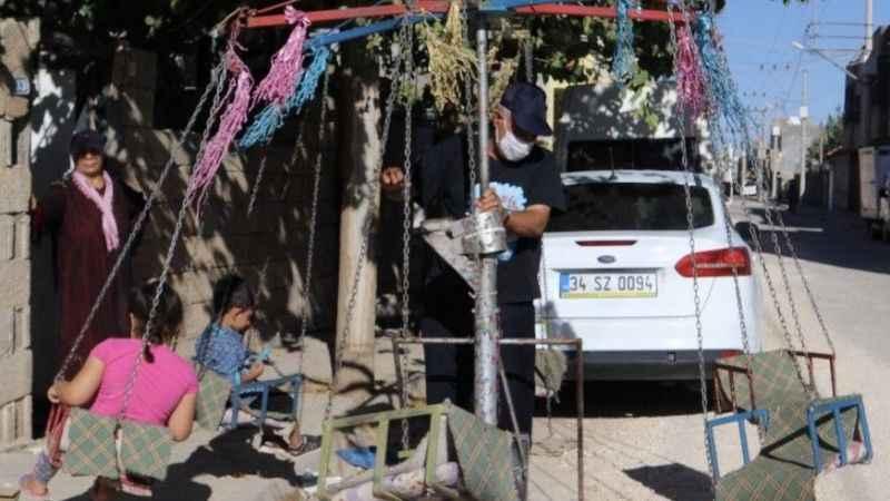 Terör mağduru: 54 yaşında,dönme dolapla ailesini geçindiriyor