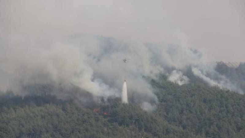 Adana Kozan'daki orman yangını hala kontrol altına alınamadı