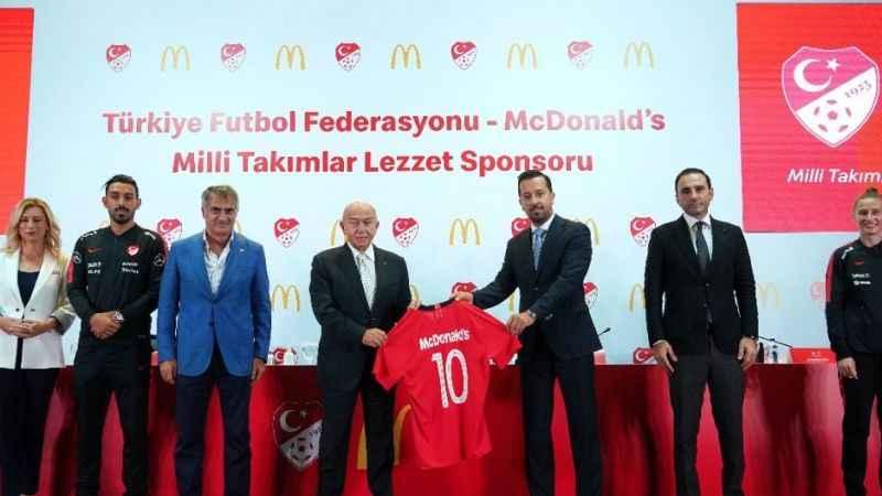TFF'nin yeni sponsoru McDonald's oldu