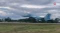 Ukrayna savaş uçaklarından otoyolda ilginç deneme