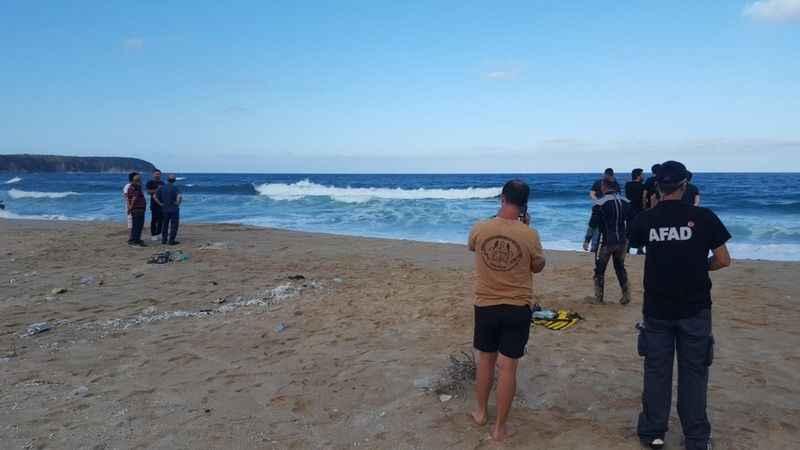 Kırklareli'nde acı olay! Denize giren iki kişi boğuldu