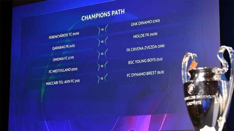 Şampiyonlar Ligi'nde 3. ön eleme kuraları çekildi