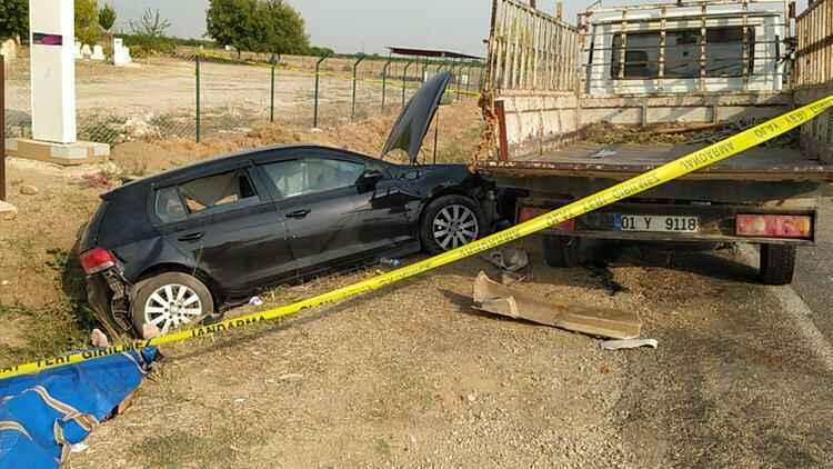 Adana'da trajik trafik kazası: 2 ölü, 4 yaralı - Afet ve Kaza haberleri