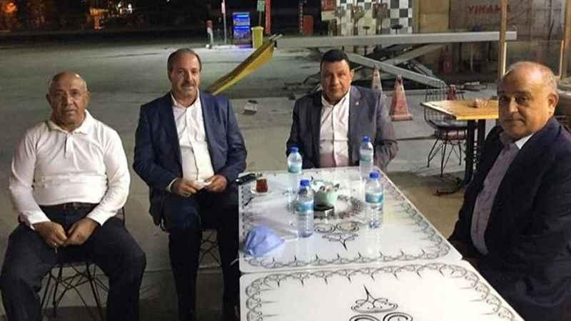 AK Paritli ve MHP'li vekiller birbirine girdi! Polis ayırdı