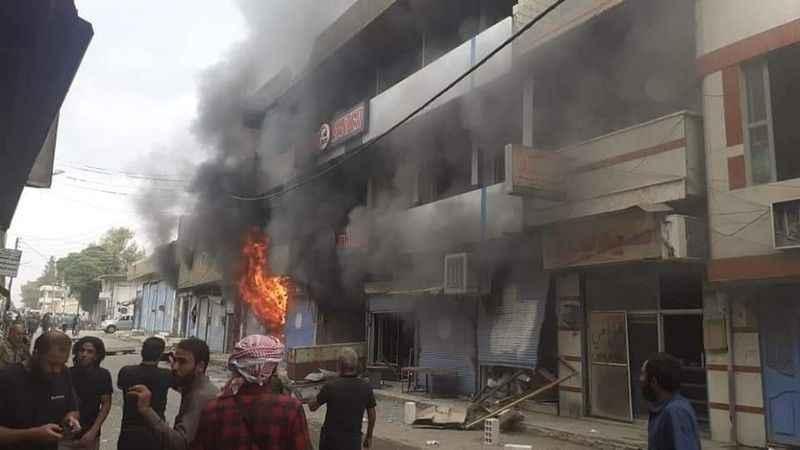 Suriye Resulayn'da bombalı saldırı