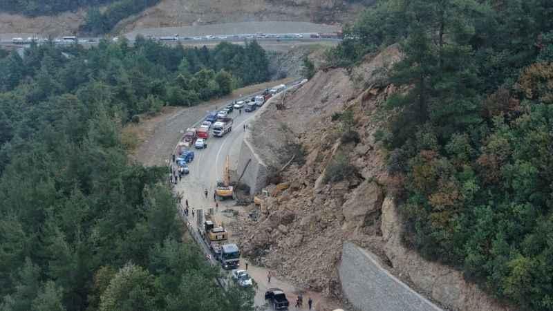 Bursa'da heyelan: 1 kişi öldü