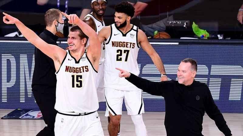 NBA'de Batı Konferansı finalin adı LA Lakers, Denver Nuggets oldu