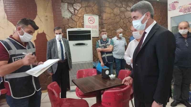 Karantinasına uymayan 10 kişi yurtlara yerleştirildi