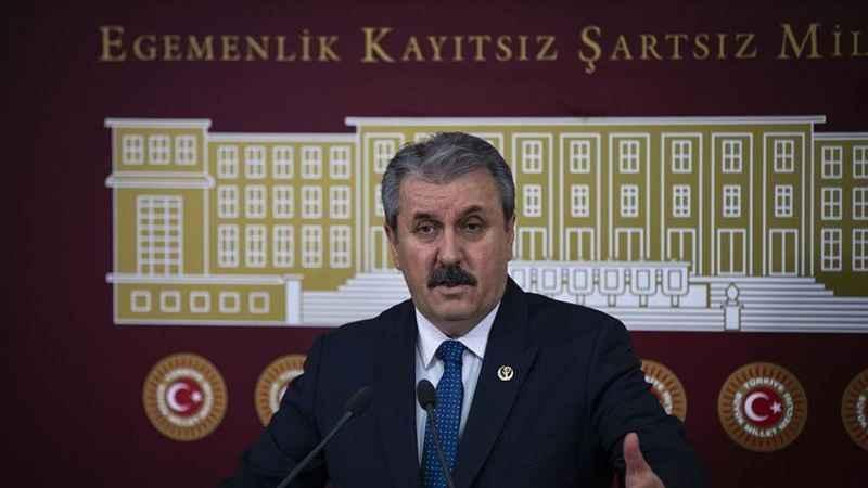 BBP Genel Başkanı Destici'den Türk Tabipler Birliği açıklaması