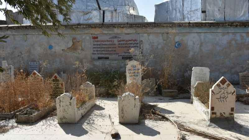 Kerkük'te zamana direnen Türk Şehitliği bakıma muhtaç