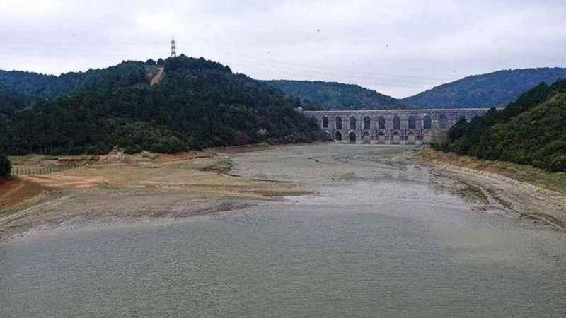 İstanbul'da barajlar kuruyor! Son 5 yılın en düşük seviyesinde