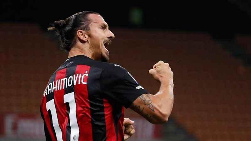 39 yaşındaki Zlatan Ibrahimovic, Milan'ı sırtladı