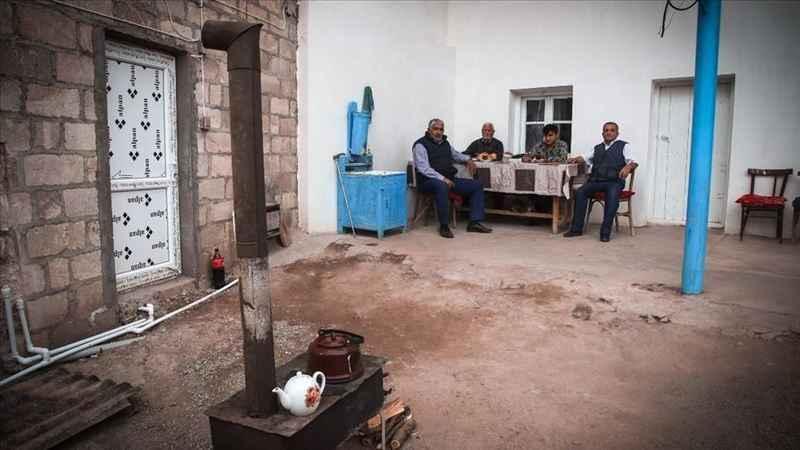 Ermenistan'ın ateşi altında yaşamını sürdüren Azerbaycan köyü