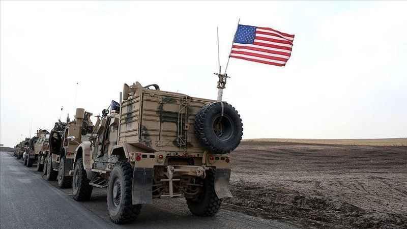 ABD, Suriye'deki üslerine 70 tırlık yeni bir askeri sevkiyat gerçekleştirdi