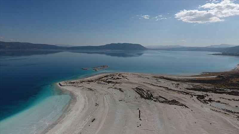 Salda Gölü'nde, göle ve plaja giriş yasaklandı
