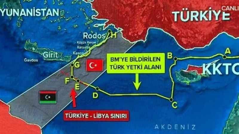 BM Türkiye ile Libya arasındaki deniz sınırı anlaşmasını tescil etti