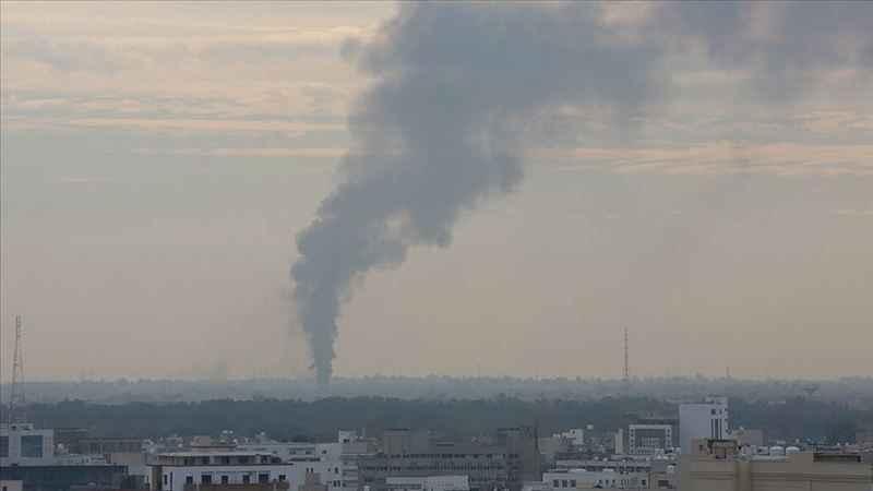 Libya ordusuna ait mühimmat deposunda patlama