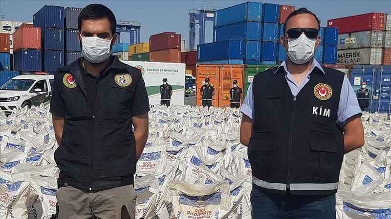 İstanbul'da bir gemide 228 kilo 438 gram kokain ele geçirildi