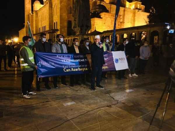 AGD'den Azerbaycan mücadelesine destek eylemi