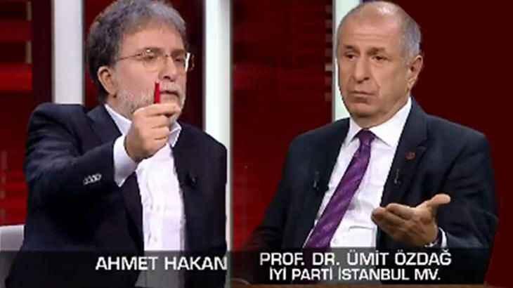 """Ahmet Hakan'dan Ümit Özdağ itirafı: """"Ben bu kadarını beklemiyordum"""""""
