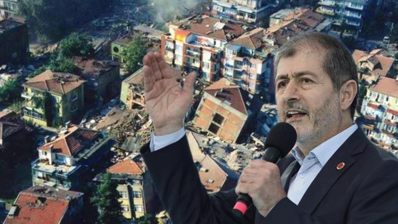 Abdullah Sevim'den İstanbul depremine hazırlık için 8 maddelik öneri