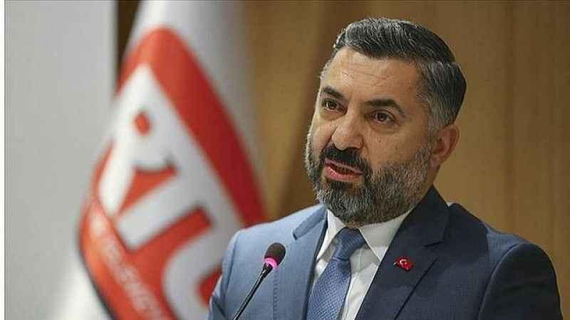 RTÜK Başkanı Şahin: