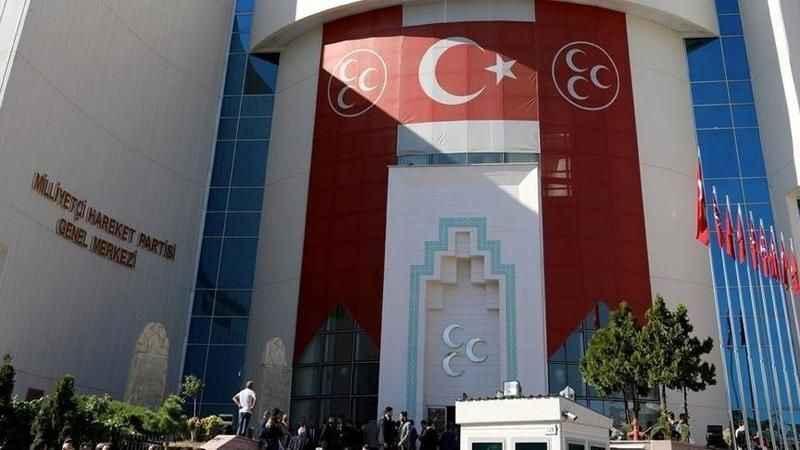 MHP'den Davutoğlu'nun Bahçeli sözlerine sert tepki!
