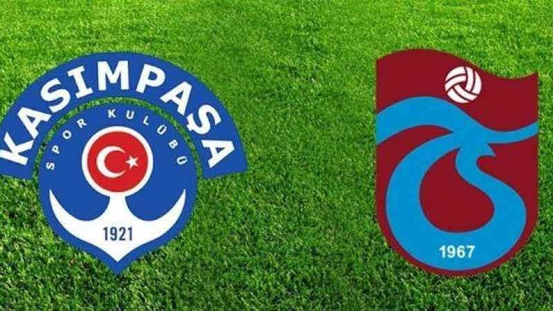 Süper Lig'de 7.hafta heyecanı! Trabzonspor -Kasımpaşa maçı saat kaçta?